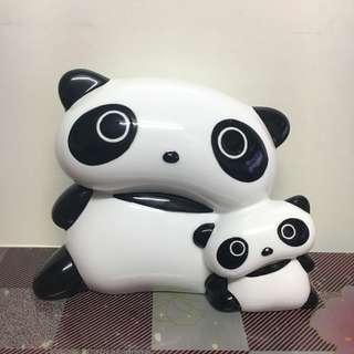 Tarepanda 趴地熊貓 陶瓷儲錢罐 存錢箱
