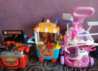 Kitchen Medical Kids Role Play Pretend Playset