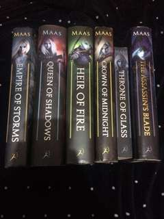 The Throne of Glass Series by Sarah J. Maas (Books 0.5-5)