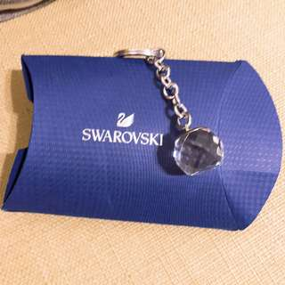 🚚 施華洛世奇水晶鑰匙圈吊飾