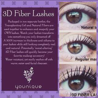 🚚 younique 3d fibre mascara INSTOCK