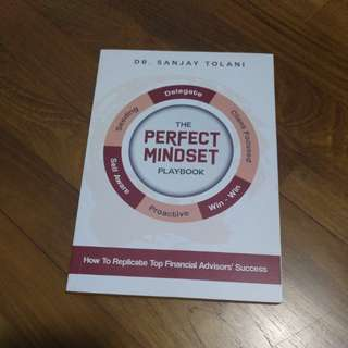 The Perfect Mindset Playbook by Dr. Sanjay Tolani