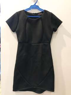 REPRICED Black Office Dress
