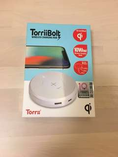 TorriiBolt Wireless Charging Hub with 3 USB Output