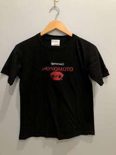 Baju hitam (Generasi) ajinomoto