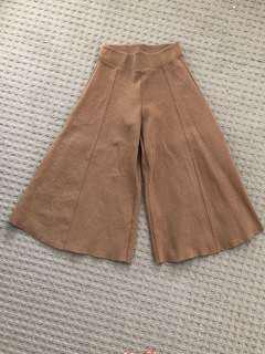 High waisted flared culottes size 27