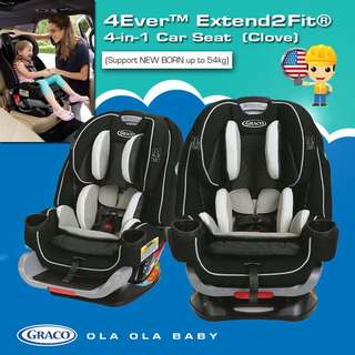 Graco 4Ever™ Extend2Fit® 4-in-1 Car Seat
