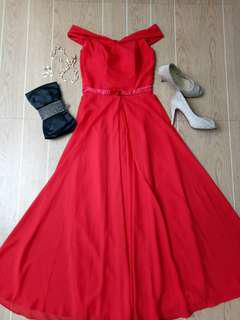 For Sale : Red Gown