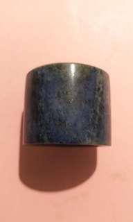 清代、青金石班指(23mm)