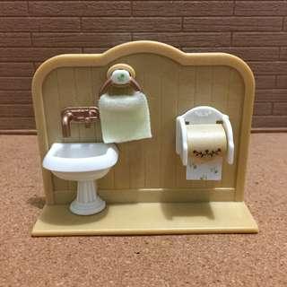 Sylvanian Families Lavatory set