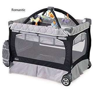 Chicco Lullaby LX romantic CRIB/Play yard