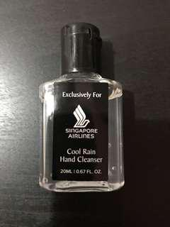 Singapore Airlines Business Class Amenity - Hand Cleanser