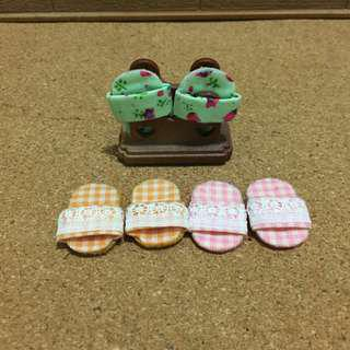 Sylvanian Families Slippers set
