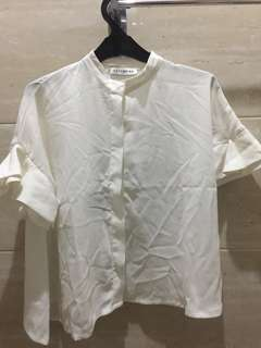 Brand New With Tag Cotton Ink blouse