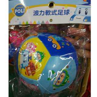 波力 POLI   軟式足球   海綿體足球 玩具球