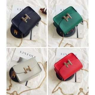 Korean Trendy Chain Sling Bag