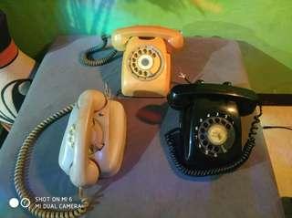 Telepon putar jadul tahun 1970