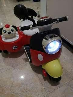 Kids toys electronic motorbike