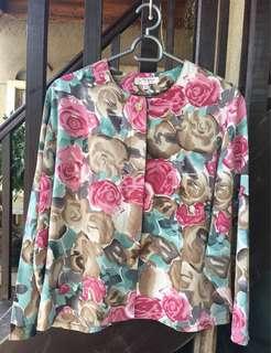 🌈Pre-loved Formal Floral Longsleeves