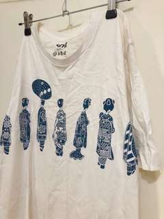 🚚 Uniqlo藝妓T-shirt上衣 賣場全部買二送一(送最低價者)