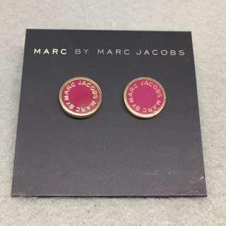 Marc Jacobs Sample Earrings 棗紅色配金色耳環