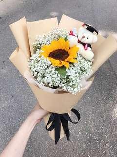 🔥PROMOTION/ Sunflower Bouquet/ graduation Bouquet