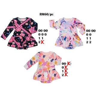 Bonds Stretchies Balletsuit Size 00 0 1 2
