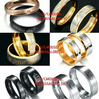 🚚 Couple Rings