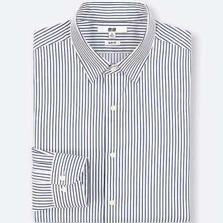 Uniqlo Pinstriped Long Sleeve Shirt