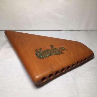 African wooden flute