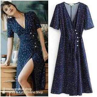 Zaful Inspired Wrap Dress