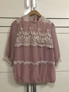 Pink Korean Top