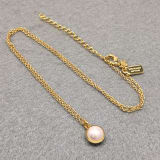 Kate Spade New York Sample Necklace 金色珍珠頸鏈