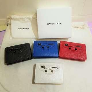 (NEW) Balenciaga 短wallet