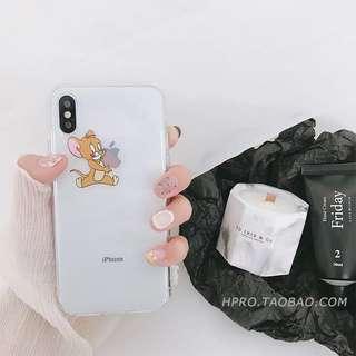 iPhone x手機軟殼