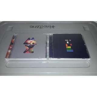 COLDPLAY (2 Lot CD, Album)