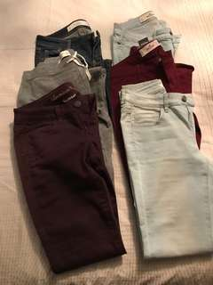 Abercrombie & Fitch/Hollister skinny jeans