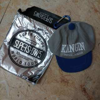 SUPER JUNIOR MINI CAP POUCH KEYHOLDER KANGIN JAPAN LIMITED
