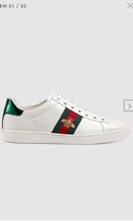 限時代購正貨 Gucci sneakers 波鞋 蜜蜂仔 shoes