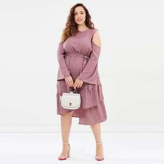 Plus size XL Pastel color dress 2018