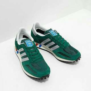 Adidas la trainer OG green