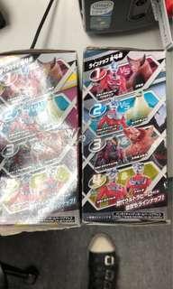 超人菓子玩具兩盒