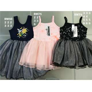 Bonds Kids Tutu Dress Size 2 3 4 5 6
