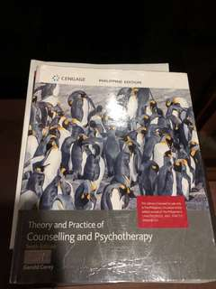 Theory and Practice of Counselling and Psychotherapy