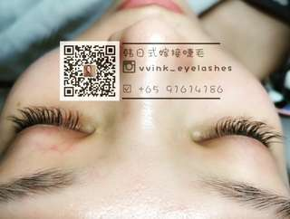 NATURAL KILLS! KOREAN 3D & 6D EYELASHES EXTENSION! $25