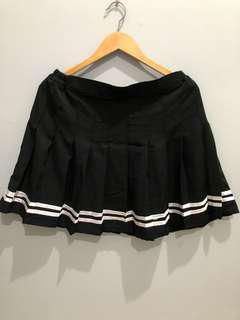 Tennis skirt black