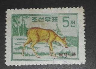North korea old stamps