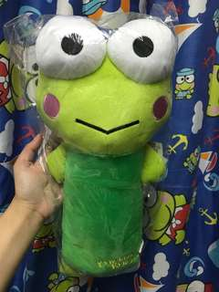 Keroppi Kerokerokeroppi Long Pillow