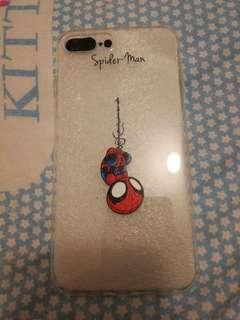 iPhone 7 plus / 8 plus 蜘蛛俠透明軟殼