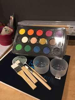 Ikea Mala Watercolour Set